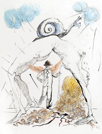 "Salvador Dalí, 'Apollinaire:""Woman with Snail""', 1967"