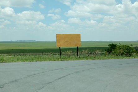 Johann Ryno de Wet, 'Road sign', 2017