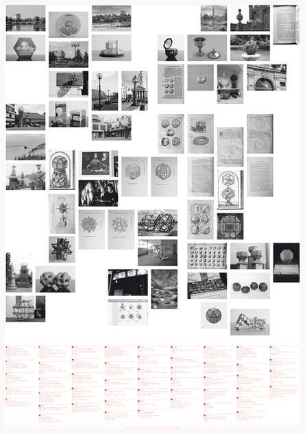 Raphaël Zarka, 'Catalogue des Rhombis', 2012
