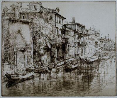 Donald Shaw MacLaughlan, 'Venetian Noontide', 1912