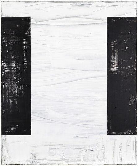 Helmut Federle, 'The Background Chronicle II (H)', 2013