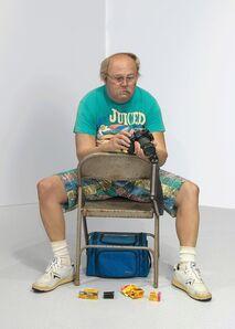 Duane Hanson, 'Man with Camera', 1991-1992