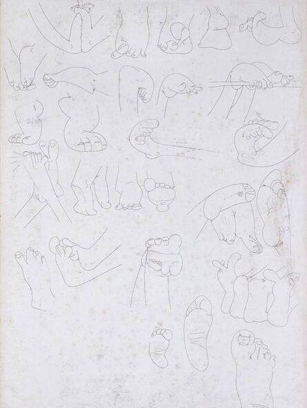 Song Ta 宋拓, 'Drawings of Feet', 2005