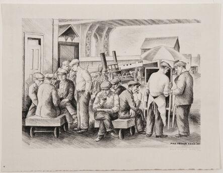 Max Arthur Cohn, 'Lunch Hour', 1938