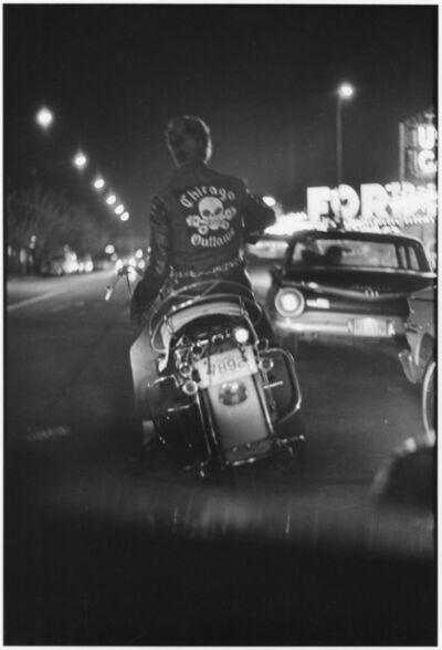Danny Lyon, 'Benny, Division and Grand, Chicago, The Bikeriders Portfolio', 1965