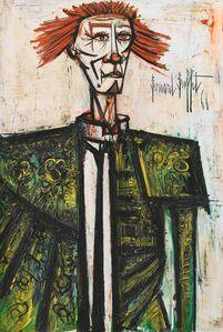 Bernard Buffet, 'Toreador en clown', 1966