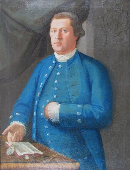 John Mare, 'Man in Blue', ca. 1765