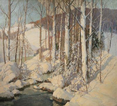 Frederick John Mulhaupt, 'Winter Calm', ca. 1920s