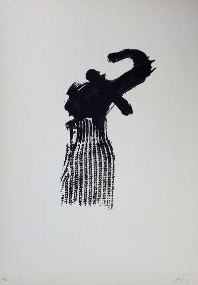 Antoni Tàpies, 'M.ojos y cruz, 1975 - Hand signed lithograph', 1975
