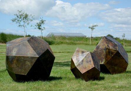 Shayne Dark, 'Glacial Series: Grouping of Three Drop Stones', 2015