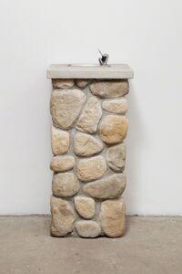 Fiona Connor, 'Object No. 5, Bare Use (water fountain)', 2013