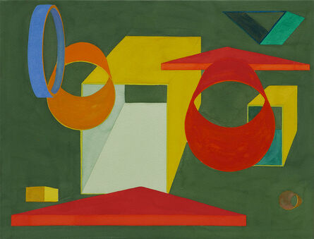 Al Held, 'Victoria V', 1991