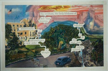 Tom Phillips, 'American Postcard', 2005