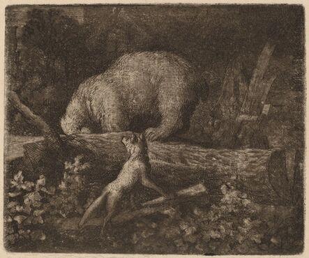 Allart van Everdingen, 'The Bear Trapped', probably c. 1645/1656