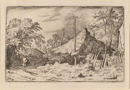 Allart van Everdingen, 'Wheel underneath the Hay Barn', probably c. 1645/1656