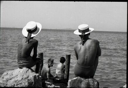 Marc Held, 'Deux Canotiers', 1960
