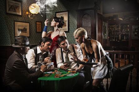 Fabrizio Cestari, 'Poker Players', 2014