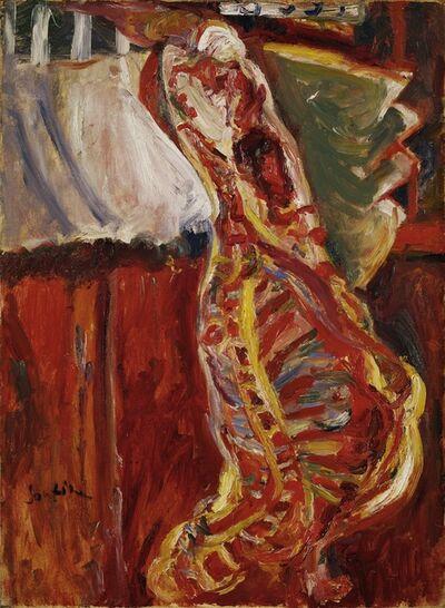 Chaïm Soutine, 'Half-side of a Beef', ca. 1922-23