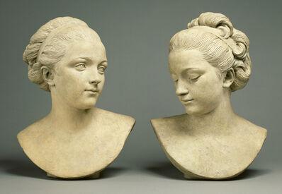 Augustin Pajou, 'Ideal Female Heads'