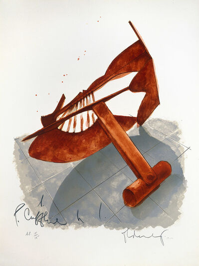 Claes Oldenburg, 'Picasso Cufflink', 1974