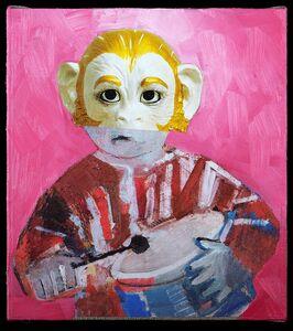 Przemek Matecki, 'Jeff koons, from the Small Paintings  series (B008)', 2016-2018