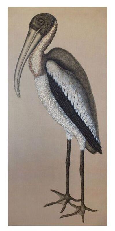 Ida Applebroog, 'After Catesby (Wood Pelican)', 2018