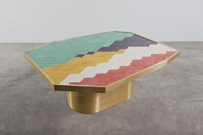 India Mahdavi, 'Landscape Table #4'