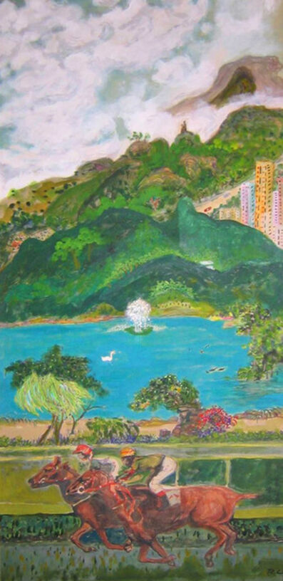TC Lai 賴恬昌, 'Shatin Racecourse and Environs', 2002