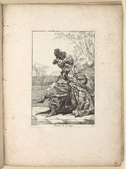 Joseph-Marie Vien, 'Caravanne du Sultan ala Mecque. Mascarade turque donneé a Rome par messieurs les pensionnaires de l'Académie de France et leurs amis au carnaval de l'année 1748', 1768