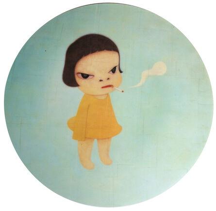 Yoshitomo Nara, 'Smoking Girl Mousepad', ca. 2005