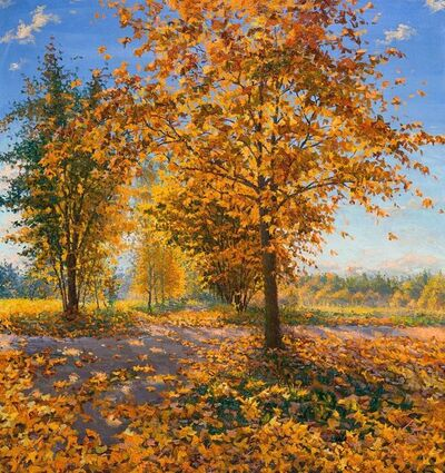 Elena Barkhatkova, 'Autumn Morning', 2017