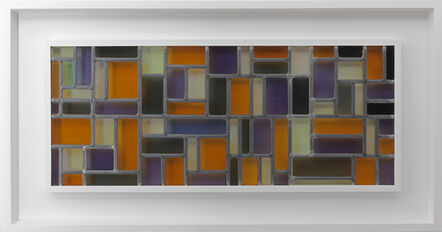Theo Van Doesburg, 'Stained-Glass Composition VIII conceived and executed in 1918-1919', 1918-1919