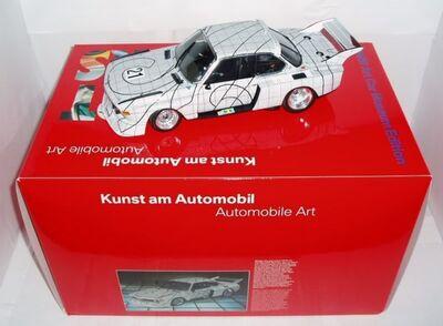 Frank Stella, 'The Art Car: Limited Edition BMW Minichamps of Frank Stella's 1976 Le Mans The Graph Car, Scale 1:18, 3.0 CSL No.21', 2004
