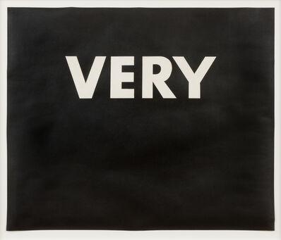 Ed Ruscha, 'Very', 1973