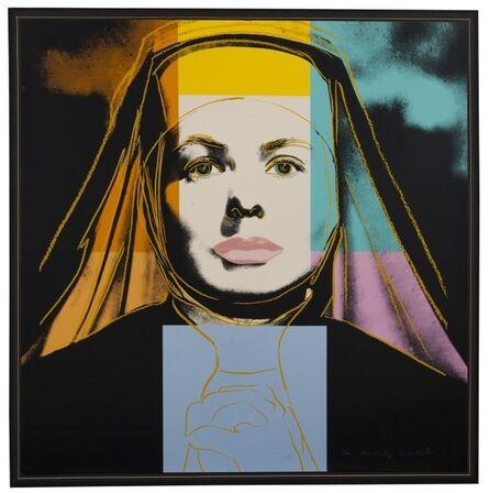 Andy Warhol, 'Ingrid Bergman. The Nun (Feldman & Schellmann 314)', 1983