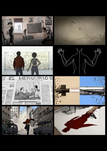 Mel Chin, 'Composite of film still from 9-11/9-11', 2007