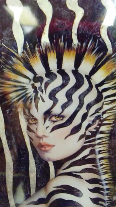 Olivia De Berardinis, 'Zieber Lady (Detail)', 1990