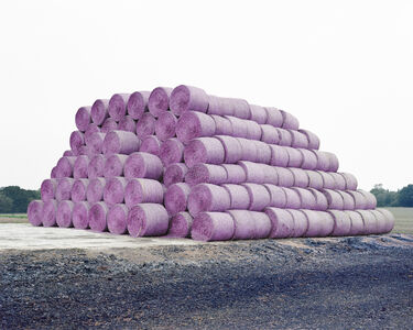 Robin Friend, 'Hay Bales, Brooklands Farm, Whitstable', 2016