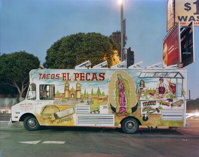 Jim Dow, 'Tacos El Pecas, Boyle Heights, Los Angeles, California', 2008