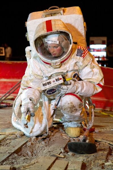 Tom Sachs, 'Astronaut Eannarino and the Handtool Palette Carrier (HTC)', 2012