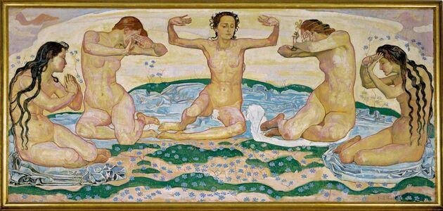 Ferdinand Hodler, 'Der Tag (The Day)', 1899-1900