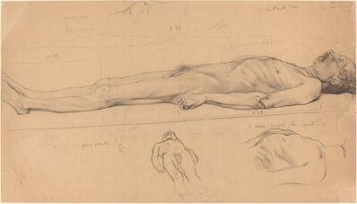 Félix Vallotton, 'The Corpse (Study for The Dead Christ)', 1893