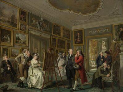 Adriaan de Lelie, 'The Art Gallery of Jan Gildemeester Jansz', 1794-1795