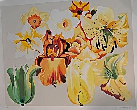 Lowell Nesbitt, 'Island of Yellow Flowers', 1981