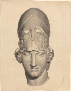 John Flaxman, 'Antique Head with a Helmet'