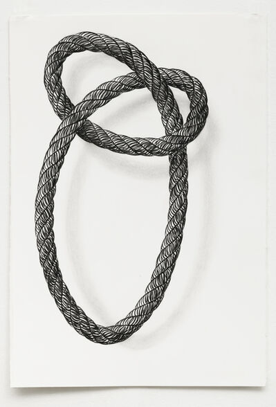 Claudia Parducci, 'Rope Drawing Day 27', 2020