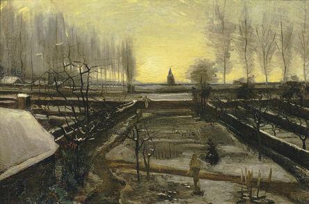 Vincent van Gogh, 'The Parsonage Garden at Nuenen in the Snow', 1885