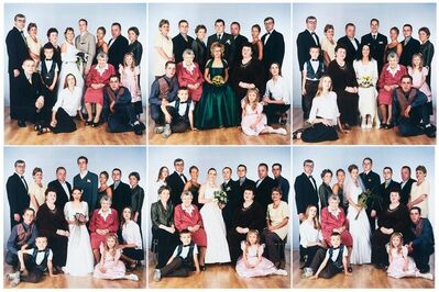 Slawomir Elsner, 'Hochzeitsfoto I-VII', 2002