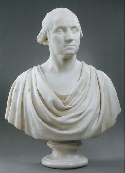 Hiram Powers, 'George Washington', 1838–1844