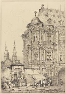 Samuel Prout, 'Chateau de Martinsbourg, Mayence'